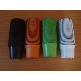 100 pots de 9 cm - 4 couleurs  (VaNBO)