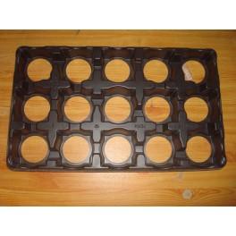 5 plaques pour pots de 10,5 cm