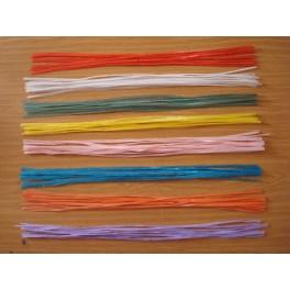 Lot 50 fil de Rafia 60 cm
