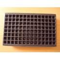 lot de 25 plaques de 112 alveoles noires