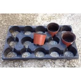 occ - 5 plaques transports pour pots de 10,5 cm