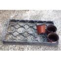 occ - 5 plaques transports rigides pour pots 10,5 cm