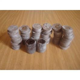50 pastilles jiffy 3,3 cm