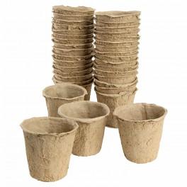 48 pots/Godets de tourbe Ø6 cm
