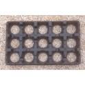 5 plaques transports pots 10,5 cm ou godets 9x9