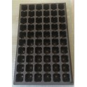5 plaques BASSES de semis - 60 alvéoles