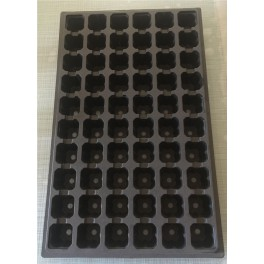 5 plaques BASSES - 60 alvéoles