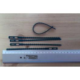 5 Liens ajustables - 17 cm