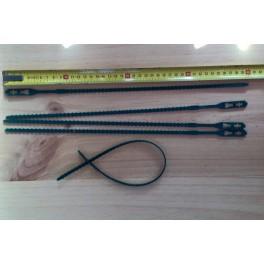5 Liens ajustables - 40 cm