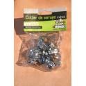 15 Colliers de serrage metal