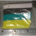 Lot de 40 étiquettes de 10.5 cm - 4 couleurs