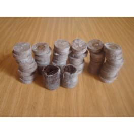 100 pastilles jiffy de 3,3 cm